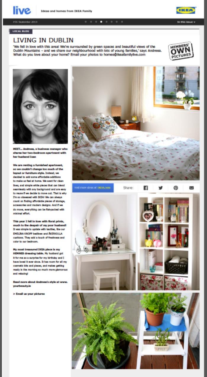 Ikea Family Live Magazine