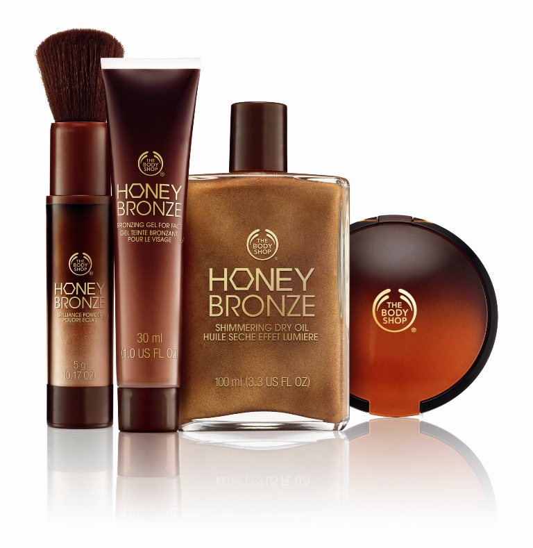 The Body Shop Honey Bronze Summer Collection - review and