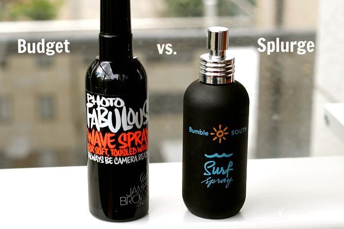 James Brown Sea Spray vs Bumble & Bumble Surf Spray