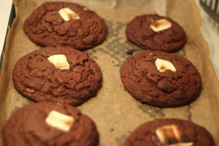 Triple Chocolate Cookies 1