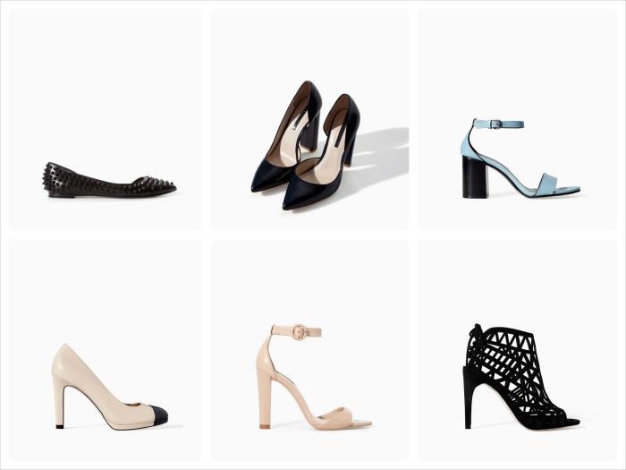 Zara SS14 Shoes YourBeauty.ie
