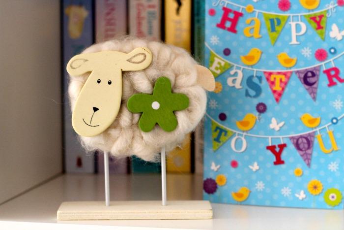 Bamboo Easter Sheep