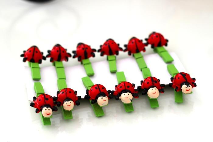 Bamboo LadyBugs