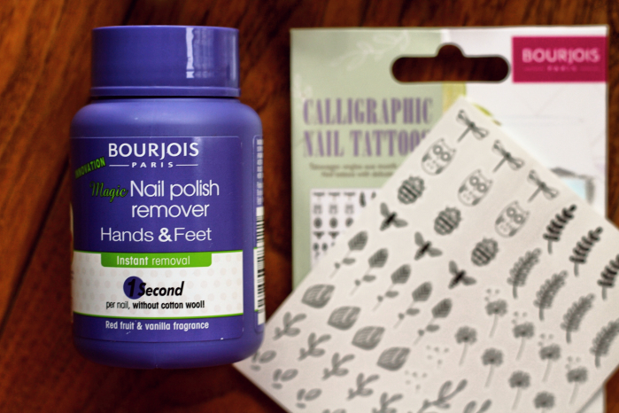 New Bourjois Hands and Feet Nail Polish Remover
