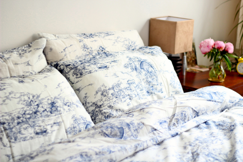 Ikea Blue Sheets