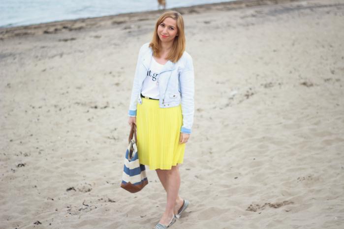 Mango pleated skirt_Fotor
