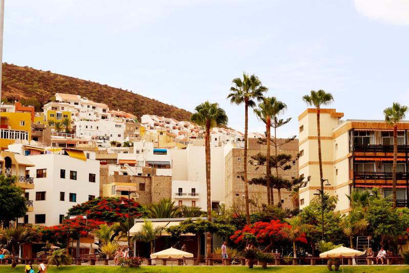 Los Cristianos, Tenerife.