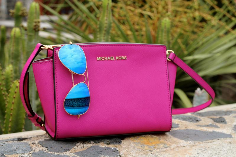 Michael Kors Pink Mini Selma