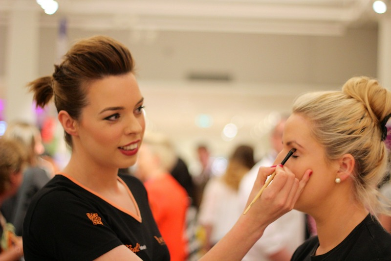 The BeneBabes in action during their masterclass.