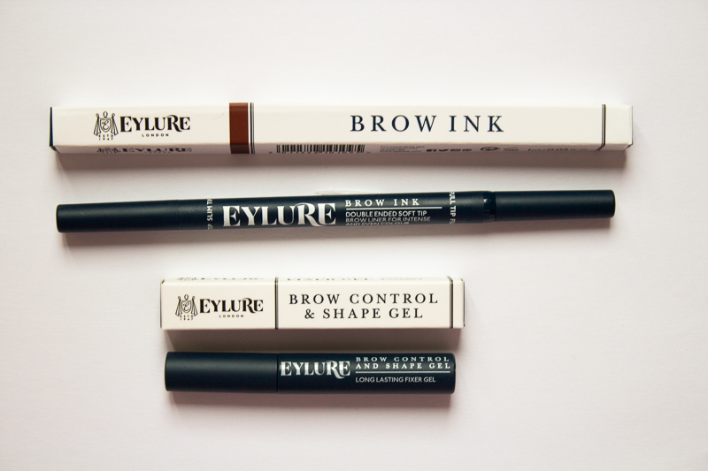 Eylure Brow Ink and Eylure Brow Control and Shape Gel