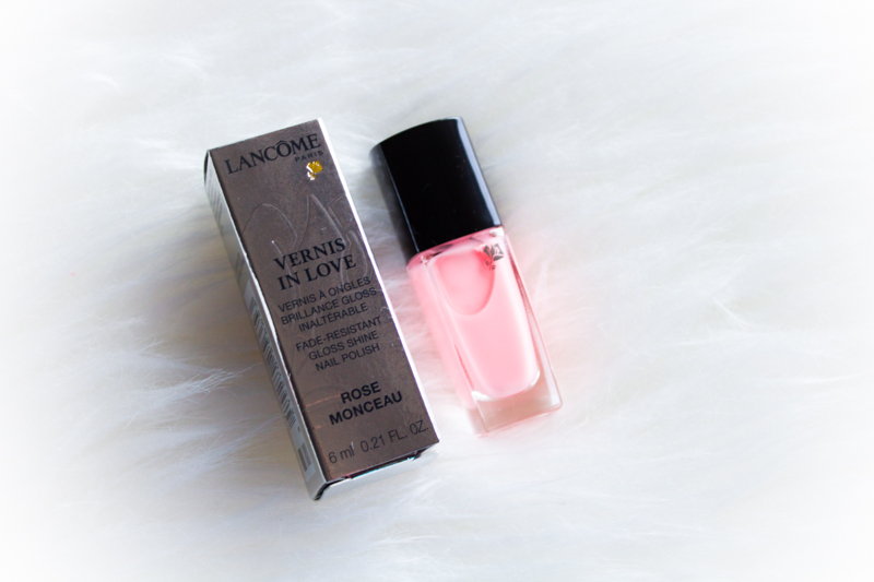 Lancome Vernis in Love Rose Monceau