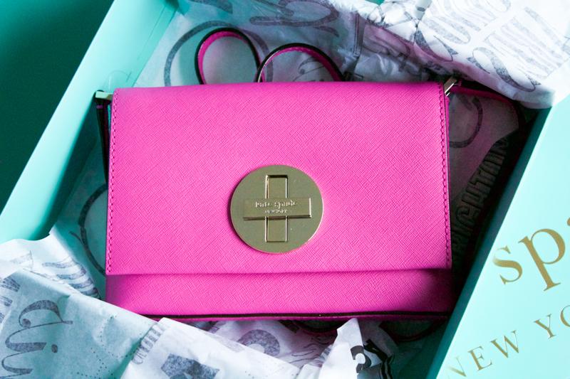 Kate Spade Pink Sally Bag