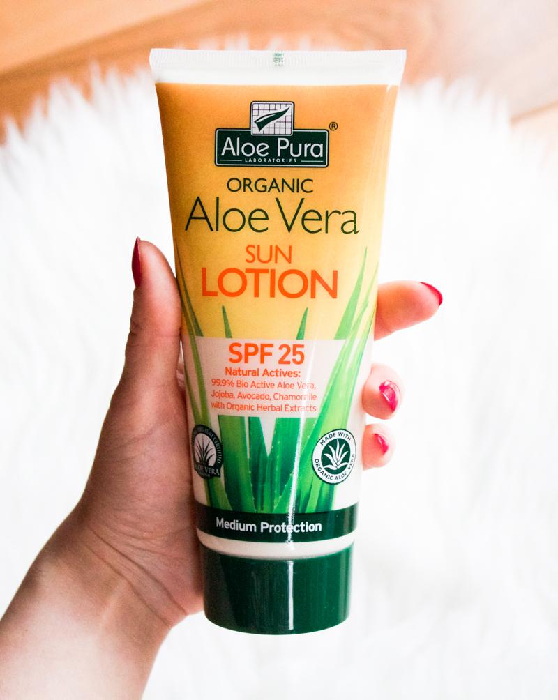 Aloe Pura Aloe Vera Sun Lotion SPF 25