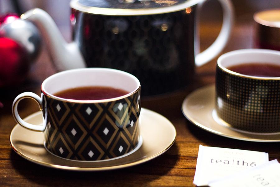 Wedgwood Arris Tea Set