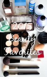 2015 Beauty Favorites