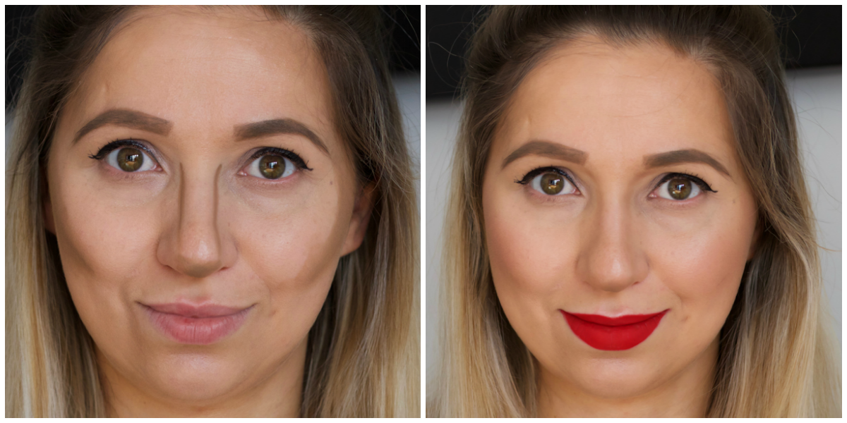 Anastasia Cream Contour Palette Before and After