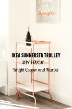 IKEA SUNNERSTA Bar Cart Hack | DIY