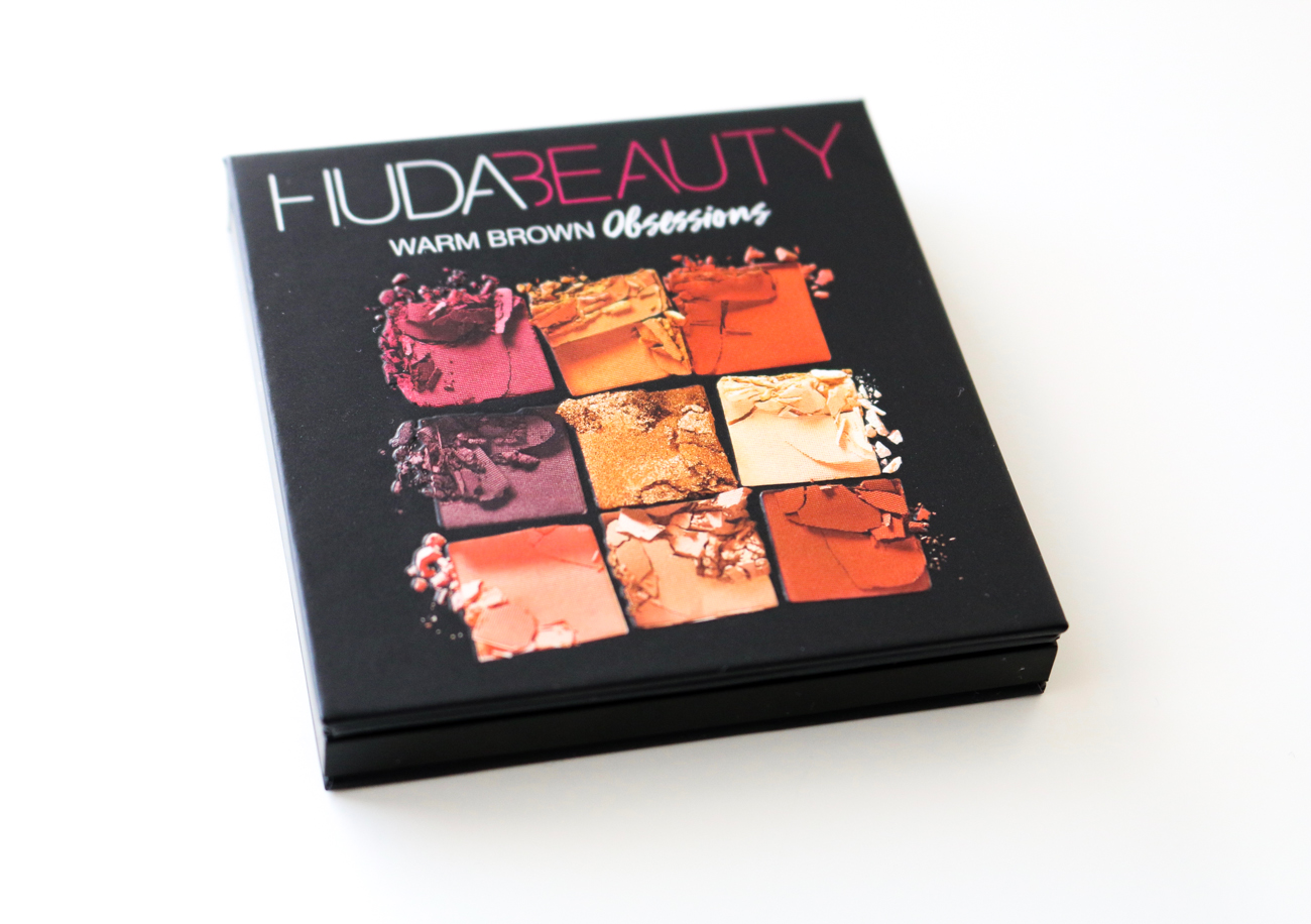 Huda Beauty Warm Brown Obsessions Eyeshadow Palette | Review, Photos and Swatches