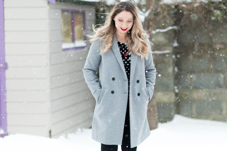 c3daa50888f The Coat You Need This Season  The Zara Grey Tomboy Coat