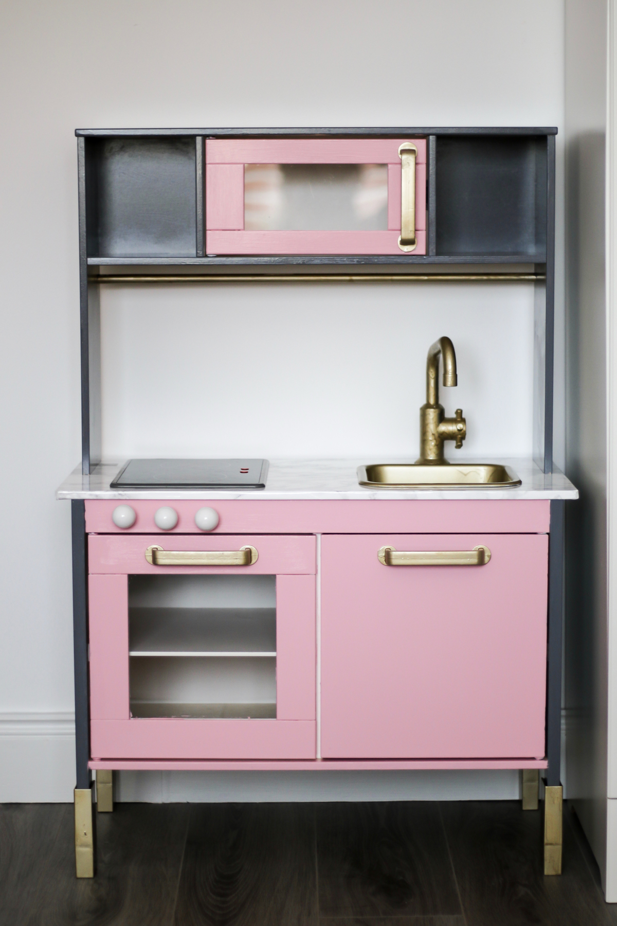 IKEA DUKTIG Play Kitchen Upcyle Makeover