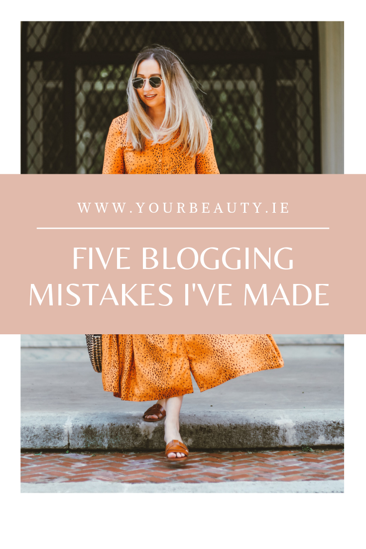 Five blogging mistakes i've made