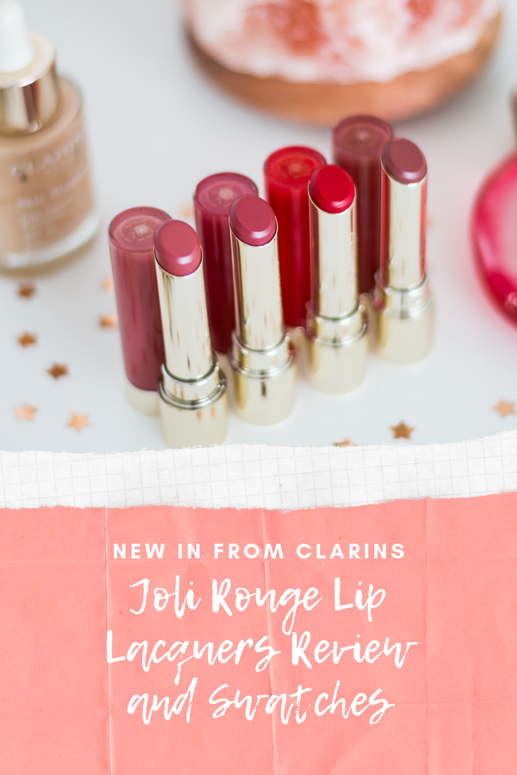 Clarins Joli Rouge Lip Lacquers