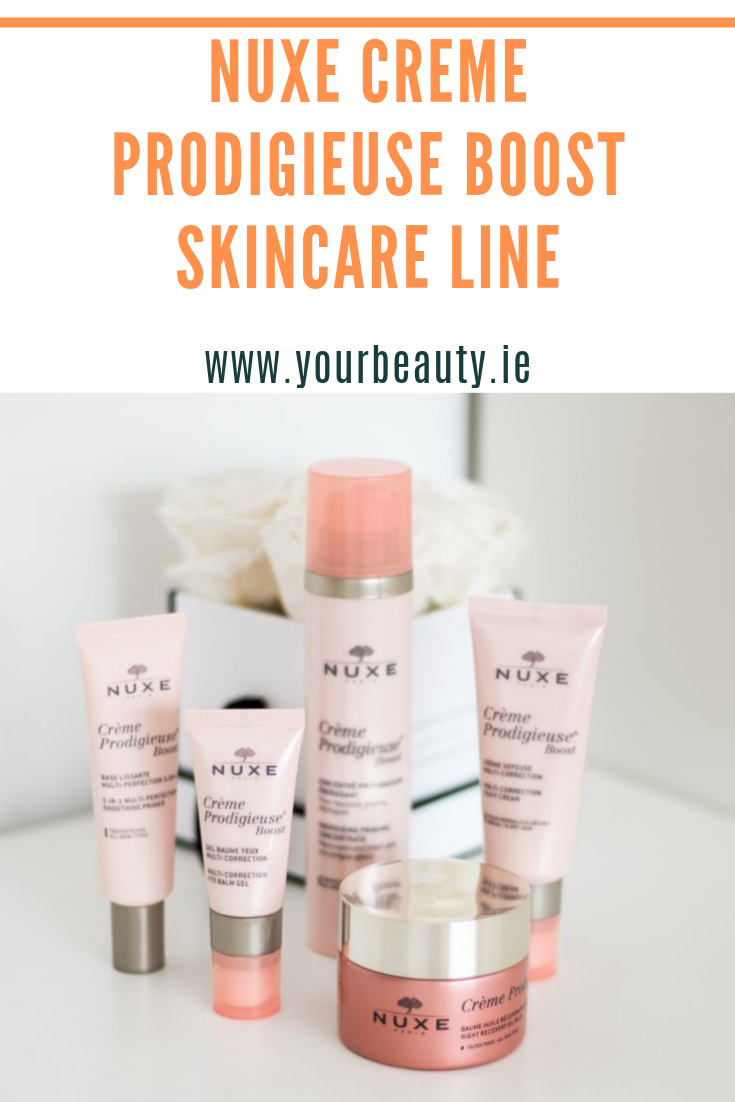 nuxe prodigieuse boost skincare