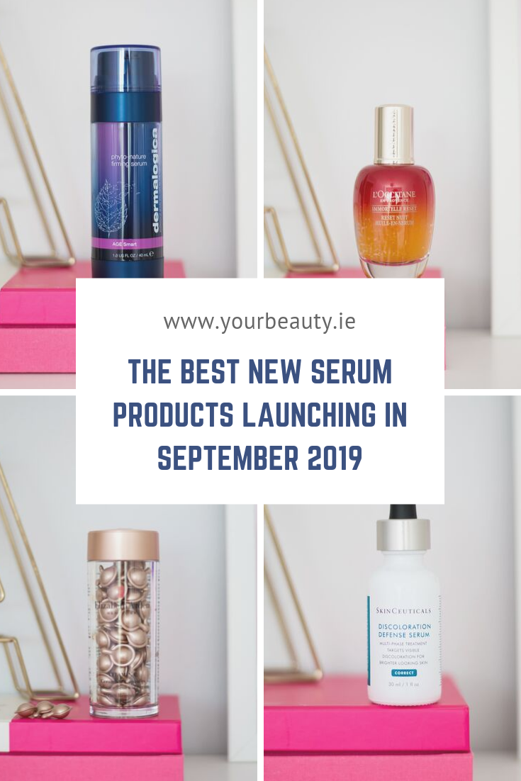 The Best New Serum Products Launching in September 2019