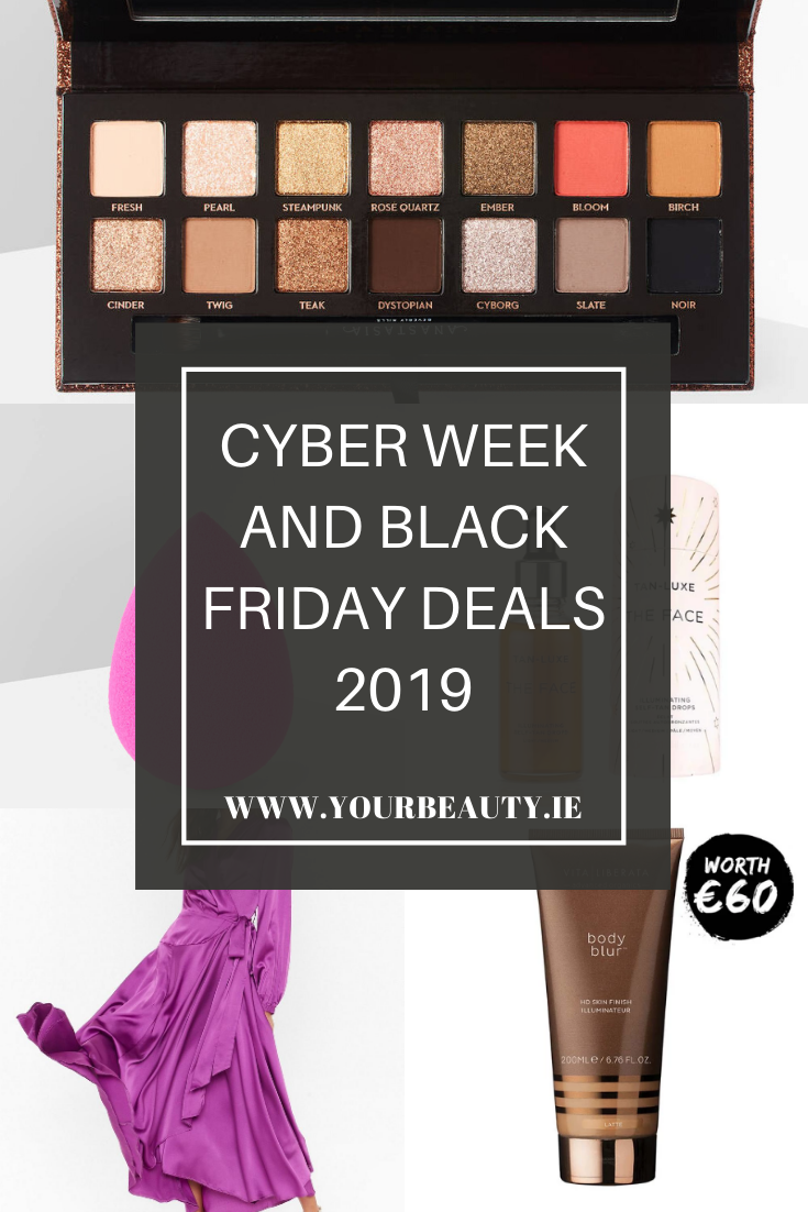 Cyber Week and Black Friday Discounts 2019