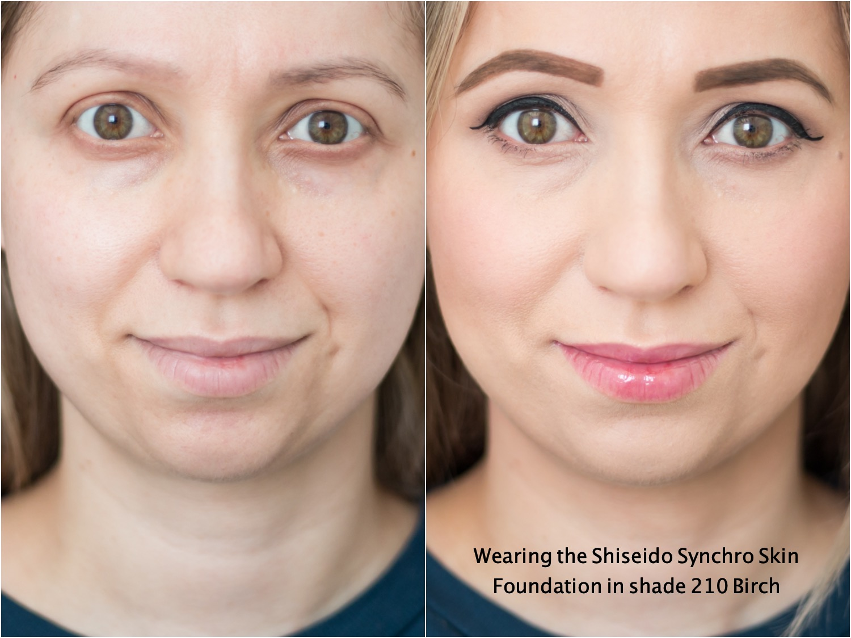 shiseido Synchro skin self refreshing foundation