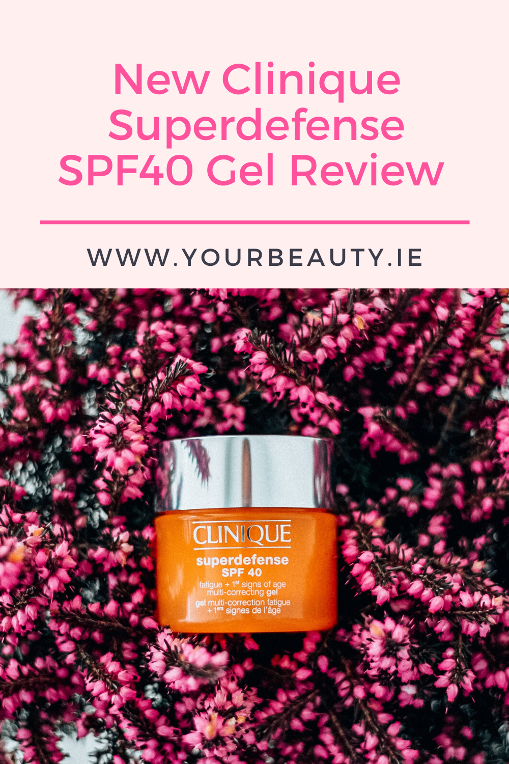 Clinique Superdefense SPF 40 Gel Review