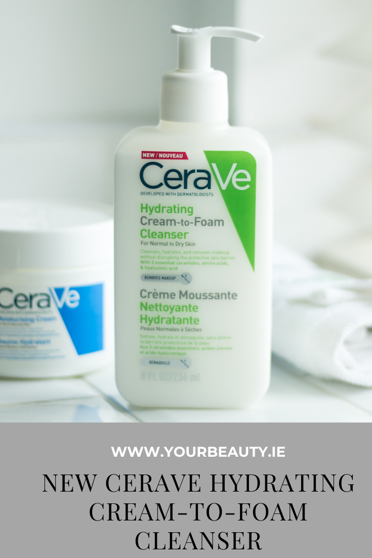 CeraVe Hydrating Cream to Foam Cleanser